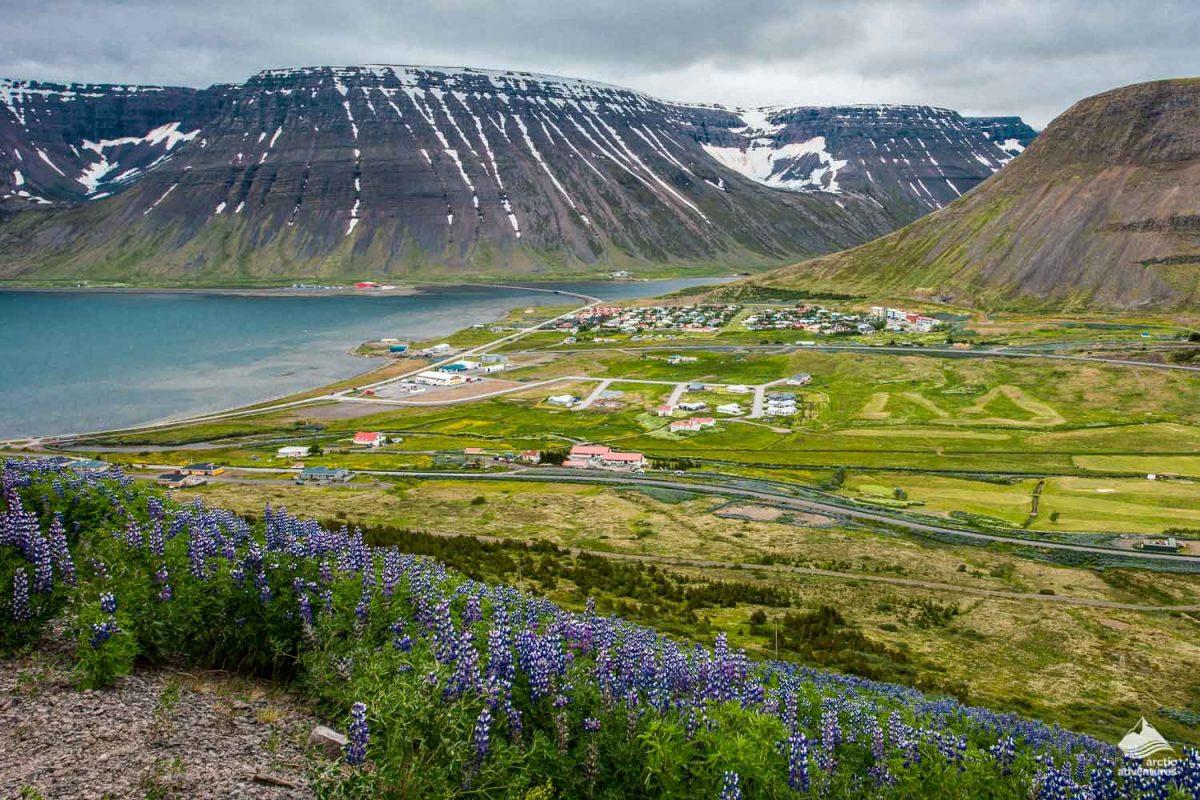 Isafjordur town of Westfjords