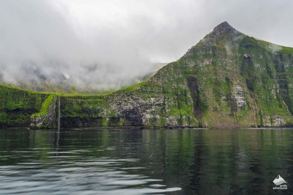 Hornbjarg cliff in Iceland