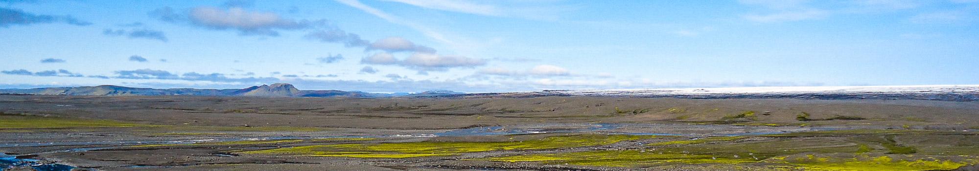 Vatnajokull area view