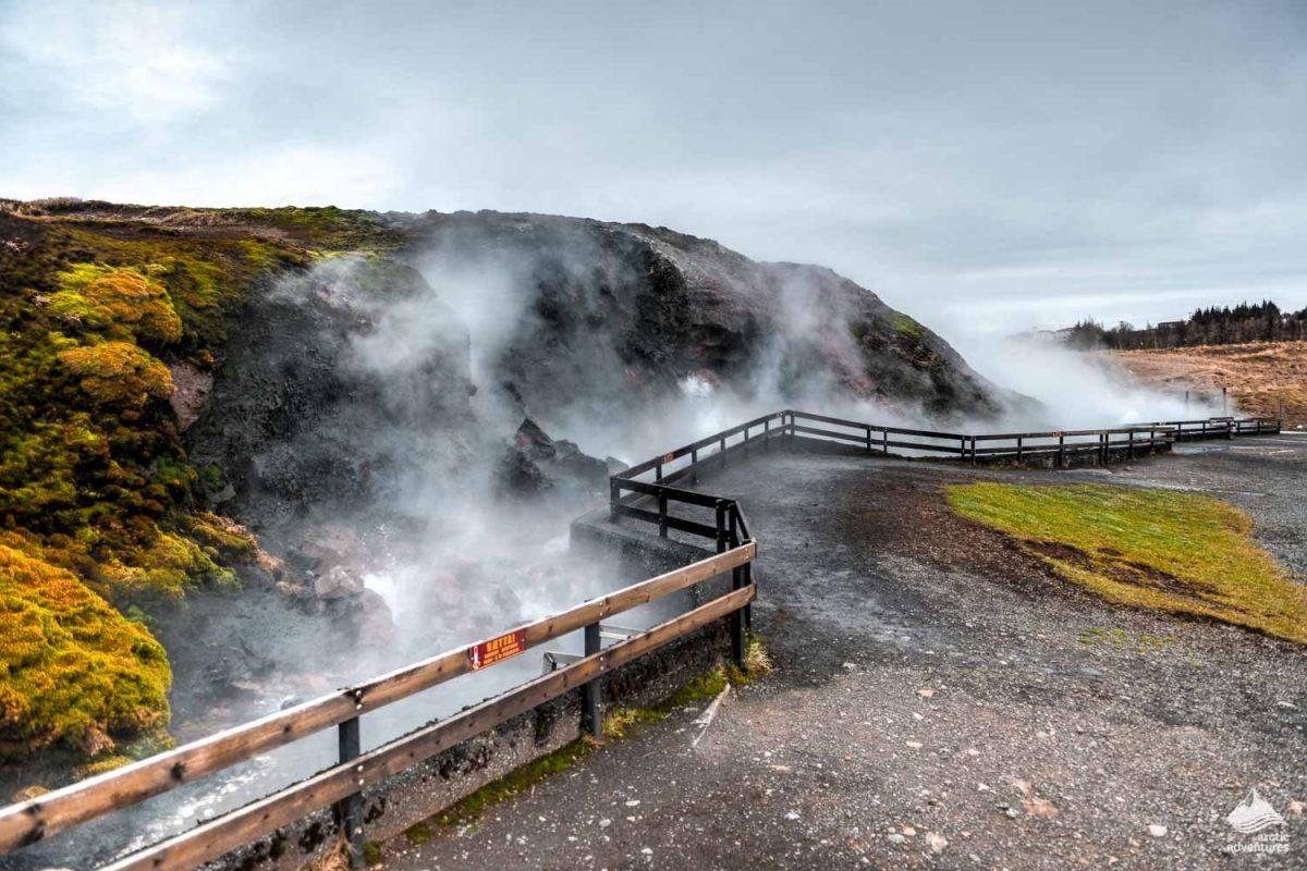 Deildartunguhver - Europe's biggest hot spring