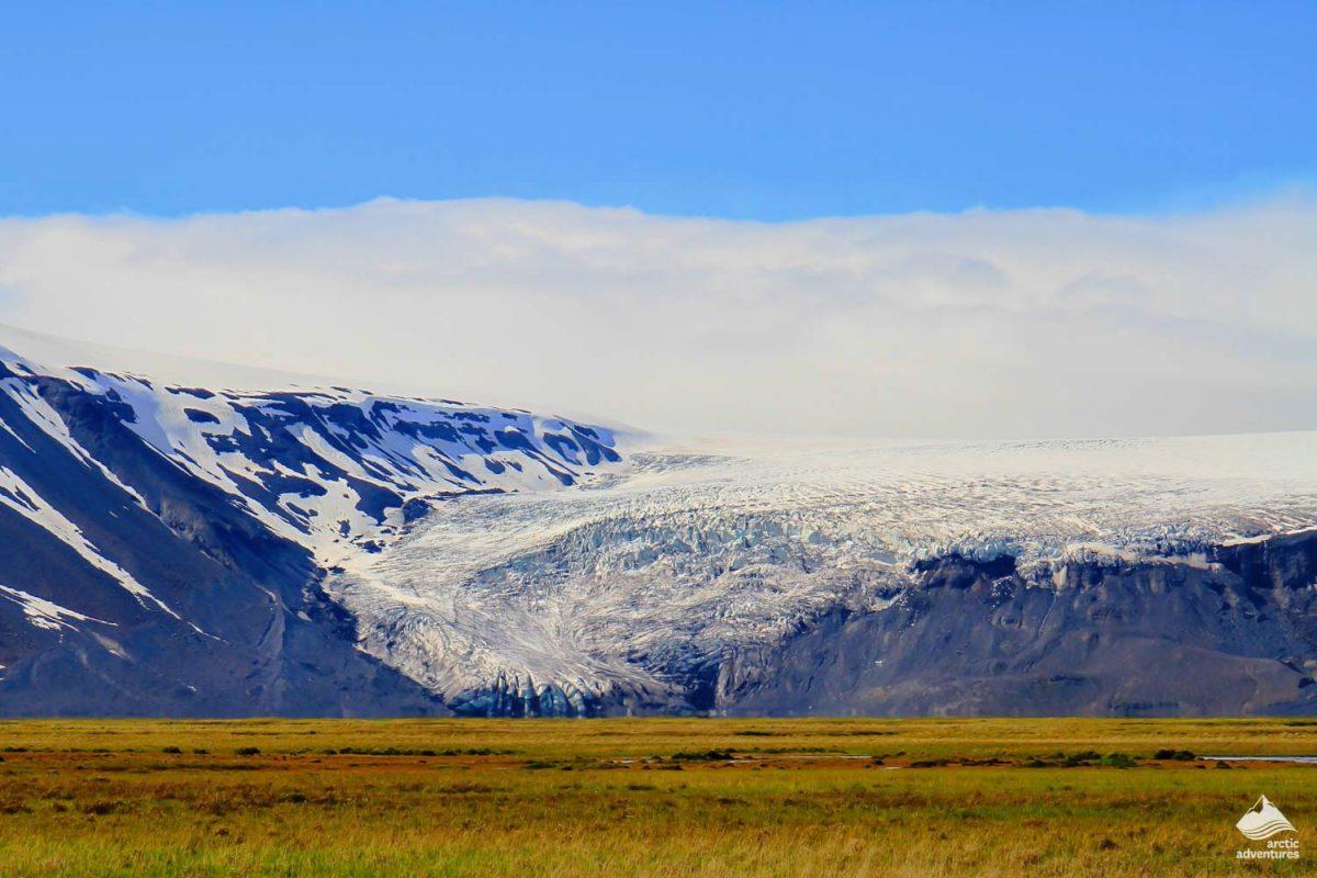 Langjokull Glacier landscape