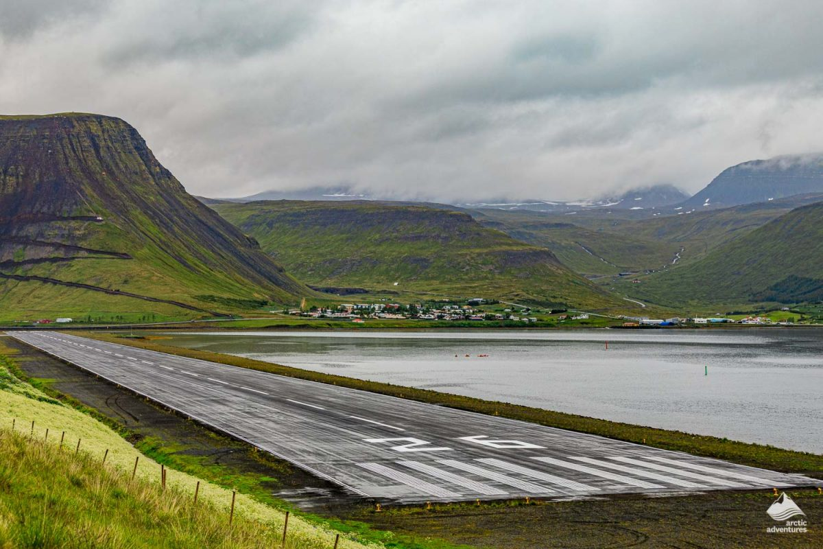 isafjordur town in Iceland