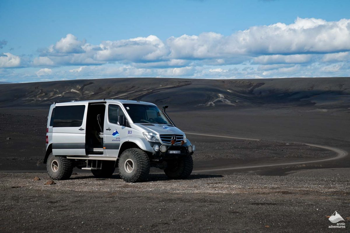 4x4 jeep in Iceland highlands