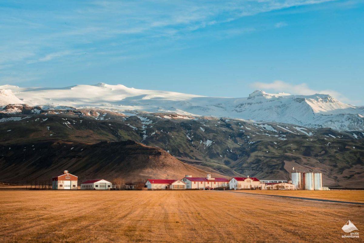 Thorvaldseyri farm in Eyjafjallajökull