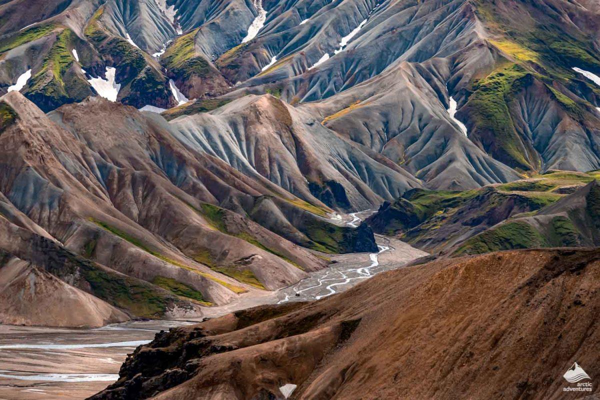 Volcanic mountains of Landmannalaugar