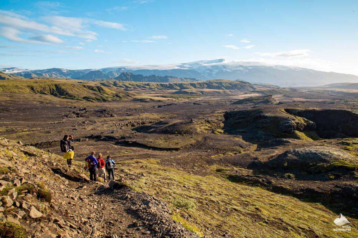 Laugavegur trek landscape